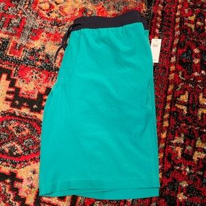 GAP Swim - NWT • green and blue pool shorts